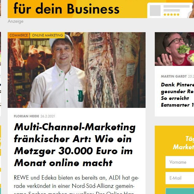 OMR - Fränkisches Multi-Channel-Marketing by Claus Böbel